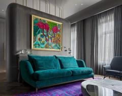 Houzz тур: Апартаменты на Арбате для деловой женщины