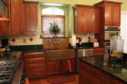 Quality all wood kitchen cabinets online or at big box?