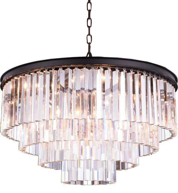 Pendant Lamp Sydney 17 Light Mocha