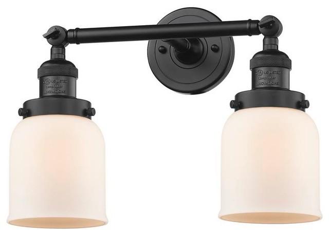 Black Antique Brass 2 Light 16 Quot Bath Vintage Bulbs