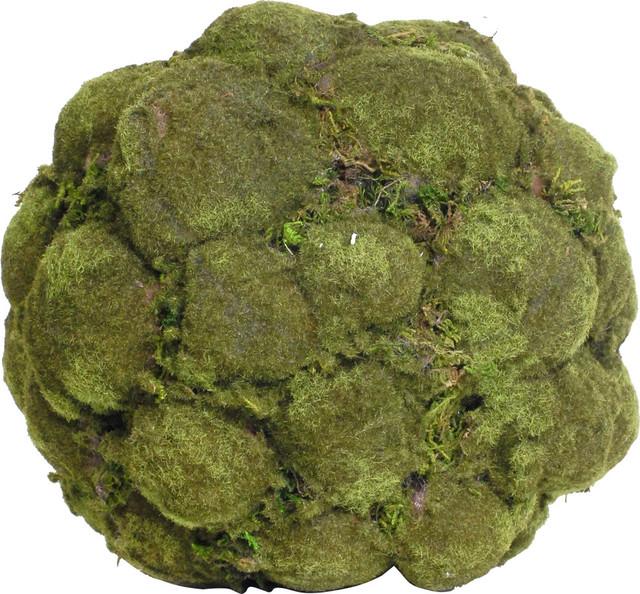Decorative Moss Balls Impressive Artificial Decorative Moss Ball Faux Botanicals Set Of 48 Rustic