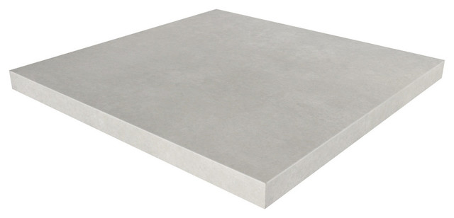 Square Concrete Table Top, White Linen, 24x24 Contemporary Table Tops And