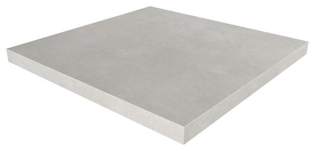 Ordinaire Square Concrete Table Top, White Linen, 24x24