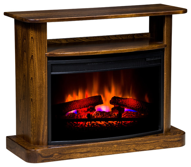 cozy glow 105a electric fireplace maple indoor