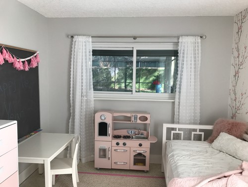 Girls Bedroom - Paint color and other design questions