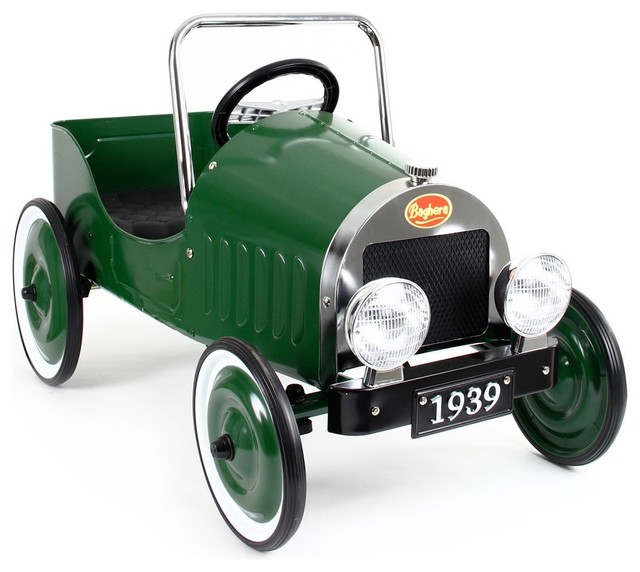 baghera blue pedal ride on car green traditional kids toys and