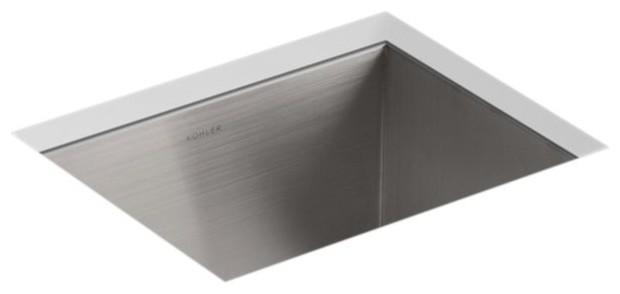 Kohler Vault Top-/under-Mount Bar Sink With 3 Faucet Holes.