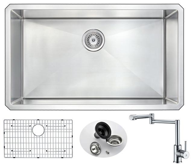 ANZZI VANGUARD Series KAZ3219-102 Kitchen Sink