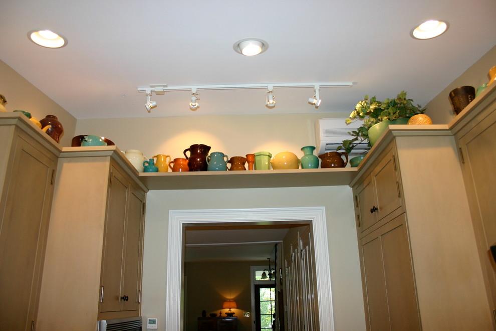 Artist Display Shelf around Kitchen