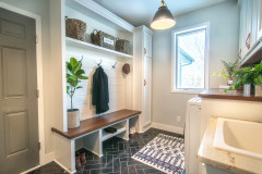 Before and After: New Mudroom Helps a Family Get Organized