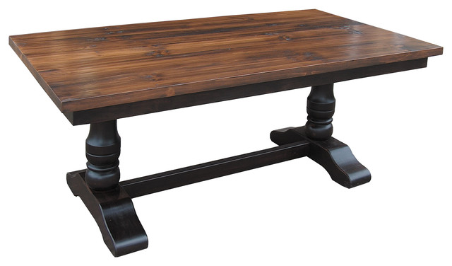 Charmant Manners Trestle Dining Table