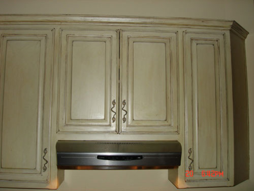 Antique Cabinet Refinish Austin - Faux Painting - Traditional - Austin - by Petrich Painting ...