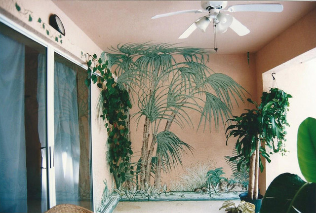 tropical home hand painted wall murals tropical tampa 25 best ideas about painted wall murals on pinterest