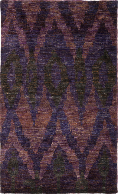 Safavieh Bohemian Tmf333a Fowler Midnight Violet Rug