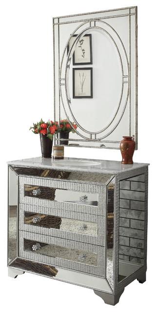 "42"" Mirror Reflection Assana Bathroom Vanity With Ravalli Mirrordh3280-42-Mr23."