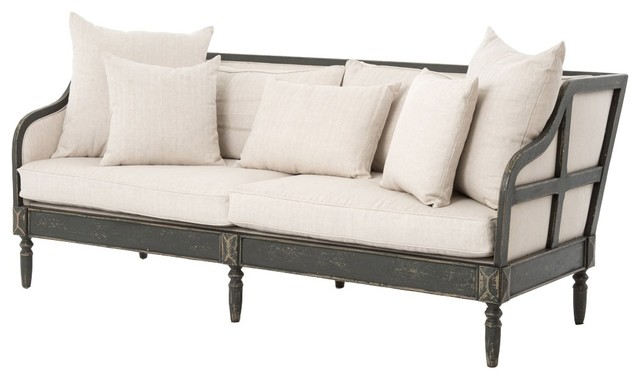 Simmons Sofa Farmhouse Sofas By PlaidFox