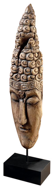 Thai Sukhothai Buddha Face Statue Asian Decorative Objects And Figurines By Design Toscano