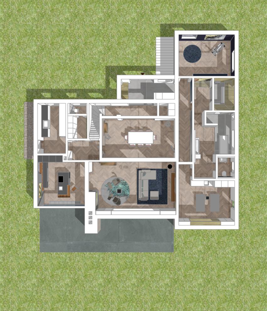 Umbau einer Villa nach Eigentümerwechsel