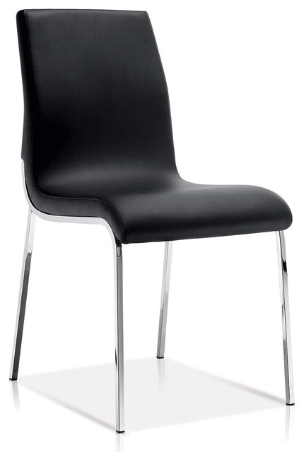 Fabulous Sleek Modern Dining Chair Black Ocoug Best Dining Table And Chair Ideas Images Ocougorg