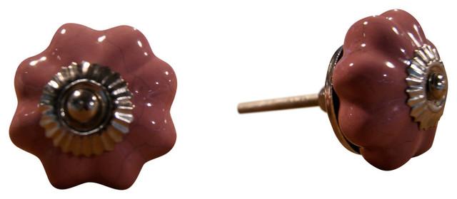 LIFESTYLE Knob-It 4-Pack, Burnt Orange - Cabinet And Drawer Knobs | Houzz