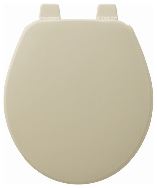 Church 540ttt 000 Wood Round Toilet Seat Contemporary