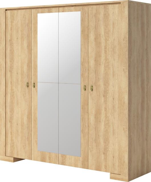 Nebraska 4 Doors Wardrobe.