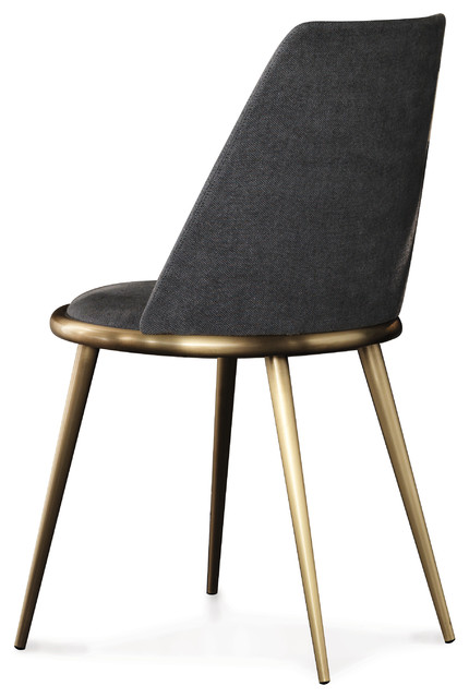 Cantori Aurora Dining Chair With Padded Backrest