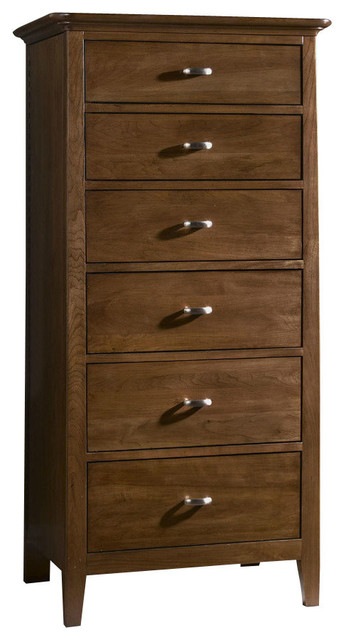 Kincaid Cherry Park Solid Wood Lingerie Chest Traditional Dressers By Bedroom Furniture