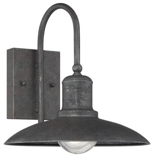 Savoy House 5-5031-1 Mica 1 Light 11 Outdoor Wall Sconce, Artisan Rust.
