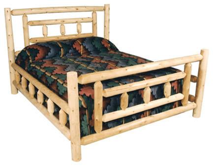 Modern Cedar Bed Frame King