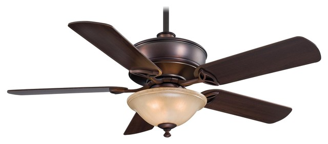 """Minka Aire F620-Dbb Bolo Dark Brushed Bronze 52"""" Ceiling Fan With Remote Control"""
