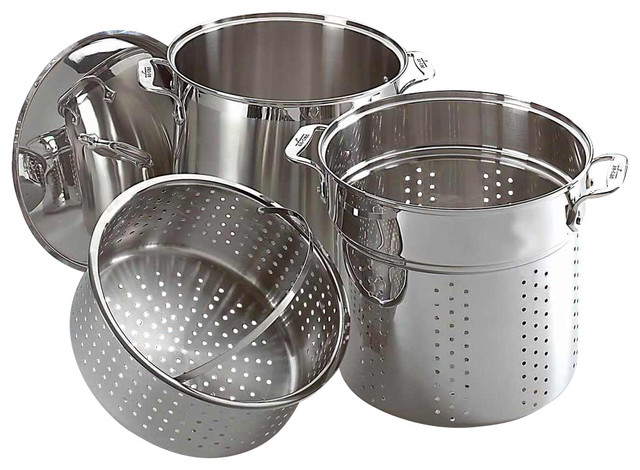 All-Clad Stainless Steel Cooker Set