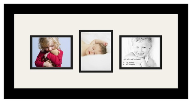 ArtToFrames Collage Photo Frame with 3 Openings - Contemporary ...