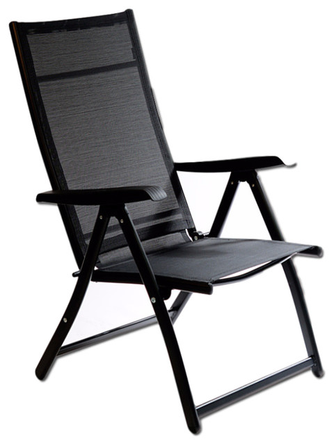 Heavy Duty Adjustable Reclining Folding Chair