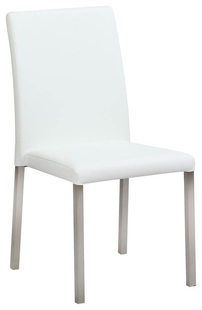 Attrayant Straight Back Side Chairs, Set Of 4