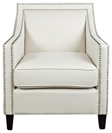Luca Easy Living Accent Chair, Ivory