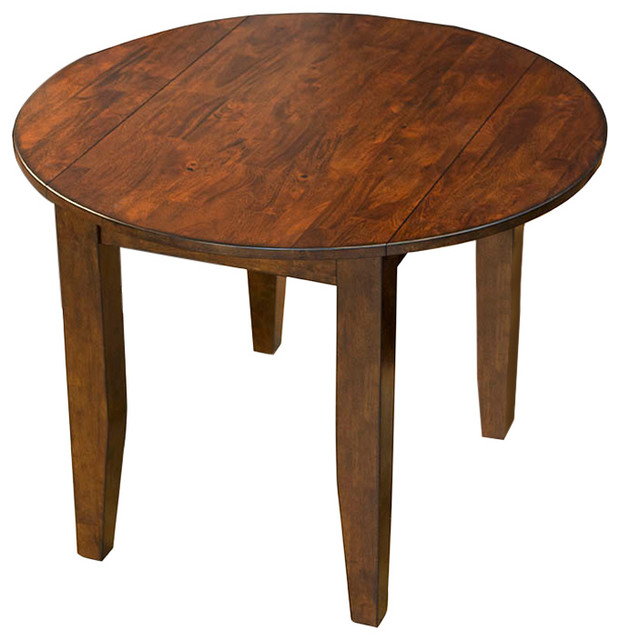 Mason 42 Round Drop Leaf Table