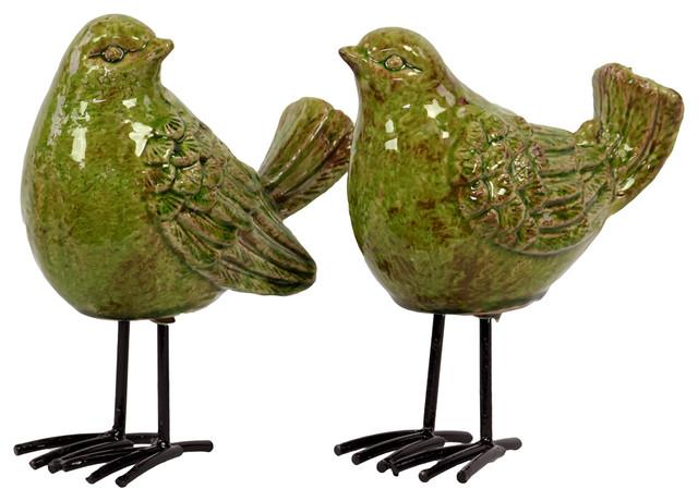 Shop Houzz Urban Trends Collection Ceramic Bird
