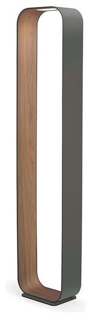 Crystal Chandelier Floor Lamp With Black Drum Shade, Satin Nickel, 2239f-09
