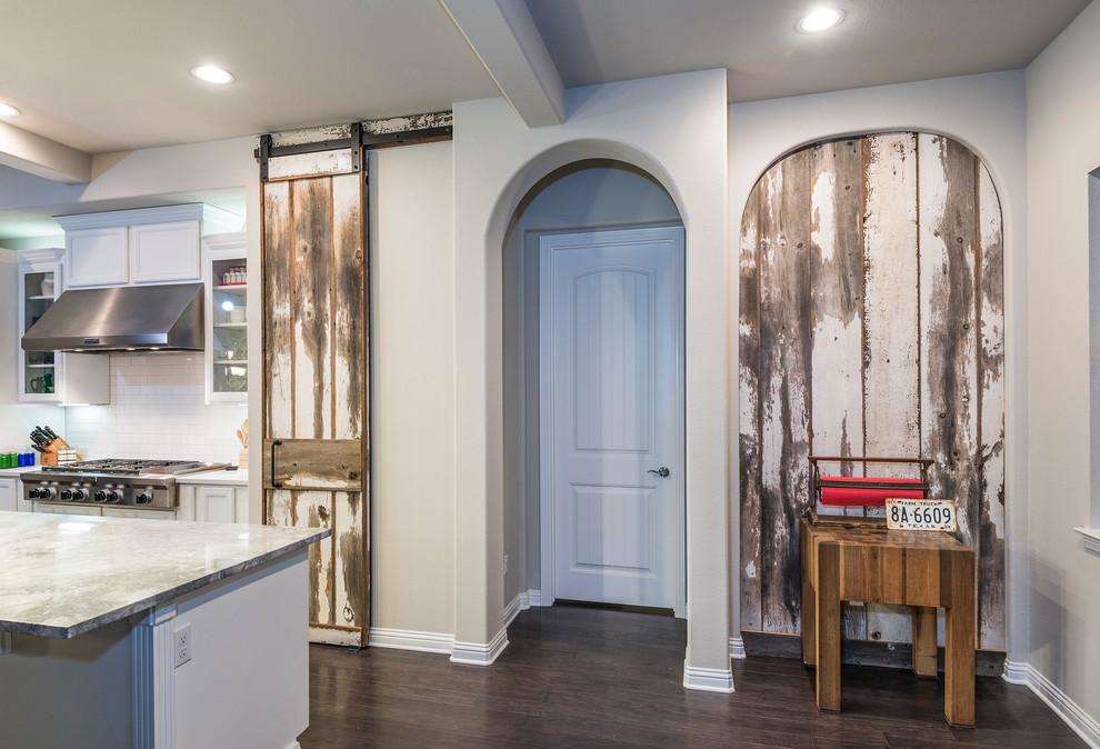 Pantry Barn Door / Nook Paneling