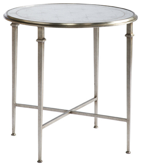 Lillian August Furnishings Lillian August Barlow Round End Table La82321 01 Side Tables And
