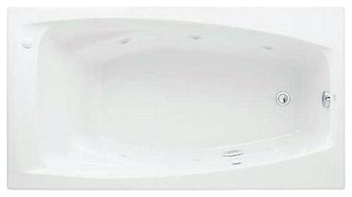 "American Standard Colony 60""x32"" Whirlpool Bath, White."