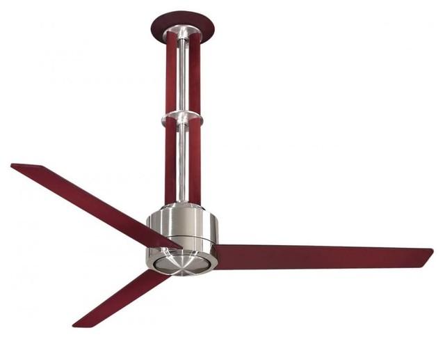 Minka-Aire Flyte Ceiling Fan, Brushed Nickel.