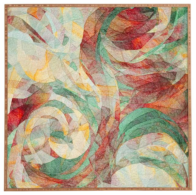 Deny Designs Ingrid Padilla Turquoise Area Rug Reviews: Deny Designs Jacqueline Maldonado Rapt Framed Wall Art