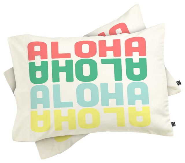 Deny Designs Ingrid Padilla Turquoise Area Rug Reviews: Deny Designs Zoe Wodarz Aloha Again Pillowcase