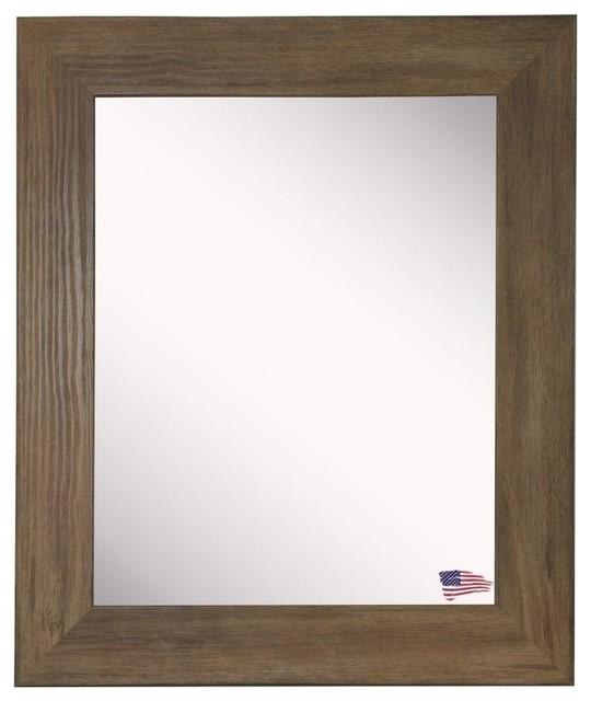 """American Made Rayne Brown Barnwood, 21.5""""x25.5""""."""