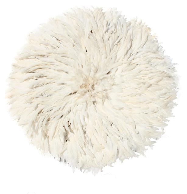 Small White / Ivory Juju Hat