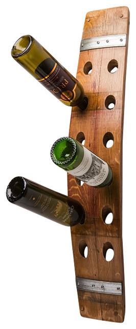 12 bottle wine barrel wall rack rustic wine racks alpine wine design outdoor finish wine barrel