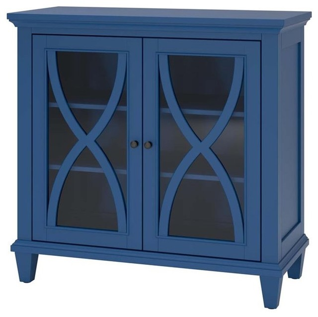 Shop Houzz | Ameriwood Ameriwood Home Ellington Double Door Accent Cabinet, Ivory - Accent ...