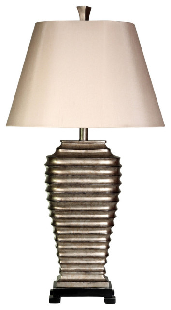 Signature 1-Light Table Lamp, Silver